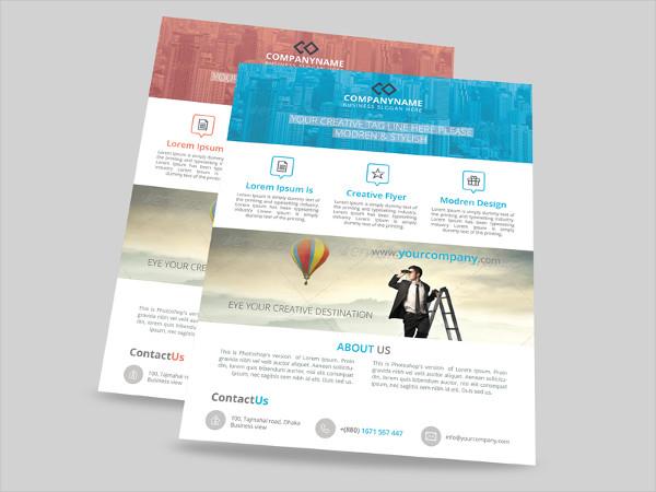 Media Promotional Flyer