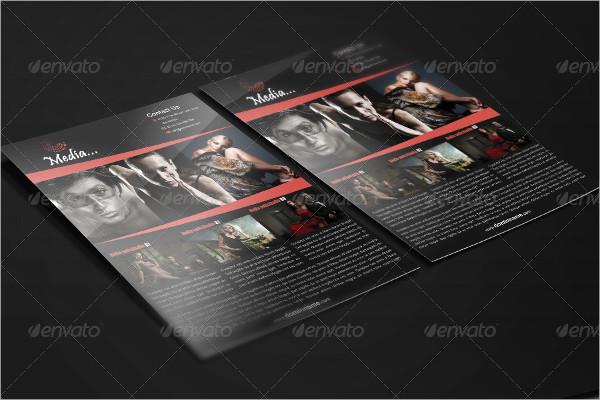 Printable Media Flyer