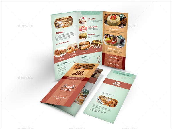 13  bakery brochures
