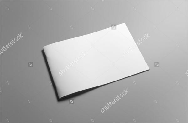Blank Landscape Brochure