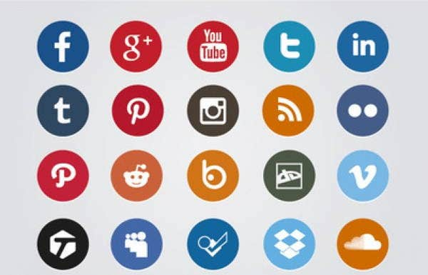 circled-social-media-icons