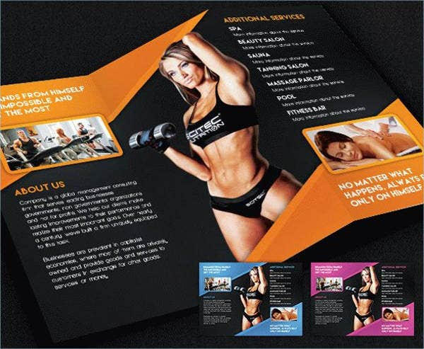 Fitness Brochures - 9+ Free Psd, Vector Ai, Eps Format Download