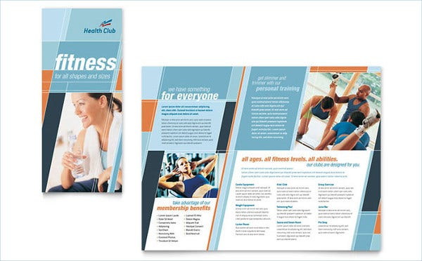 Healthy Fitness Brochure
