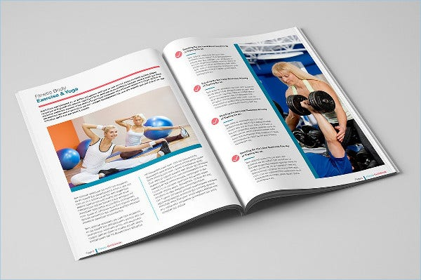 Fitness Guide Brochure