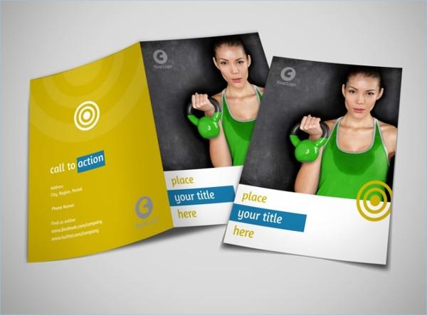 Fitness Gym Bi-foldBrochure