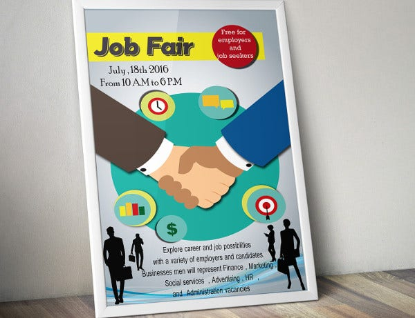 12 Job Fair Flyer Free Sample Example Format Download Free