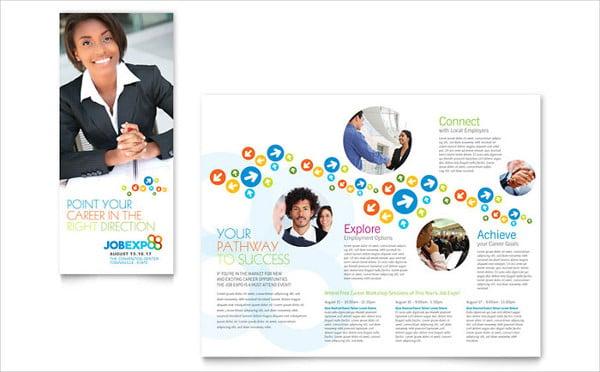 job expo brochure