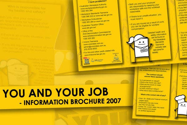 job fair information brochure