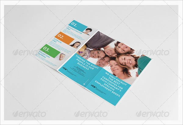 Job Fair Recruiting Brochure