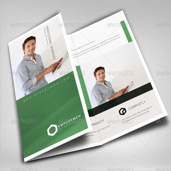 Job Fair Trifold Brochure