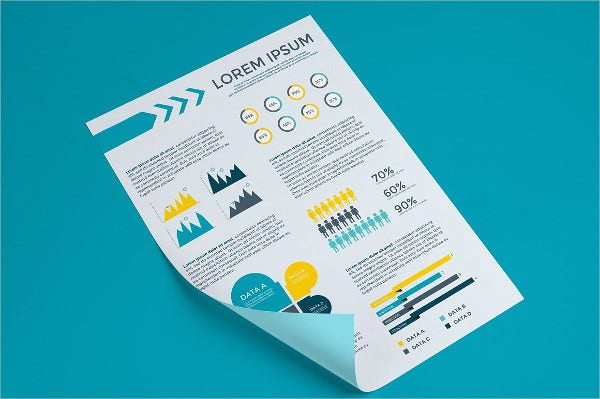 Business infographics Poster