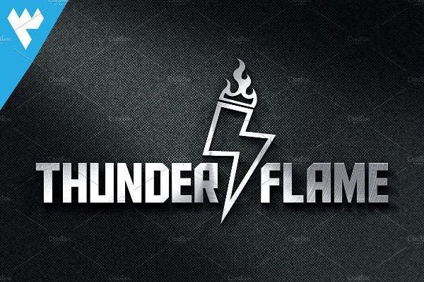 Thunder Flame Logo