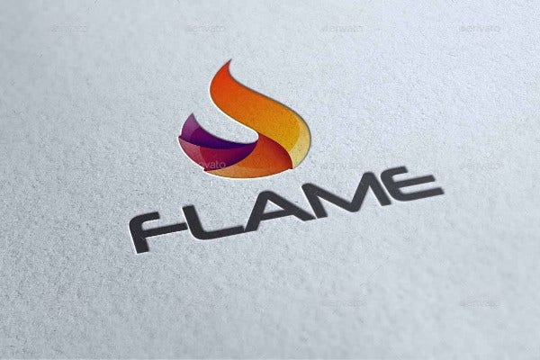 Technology Flame Logo