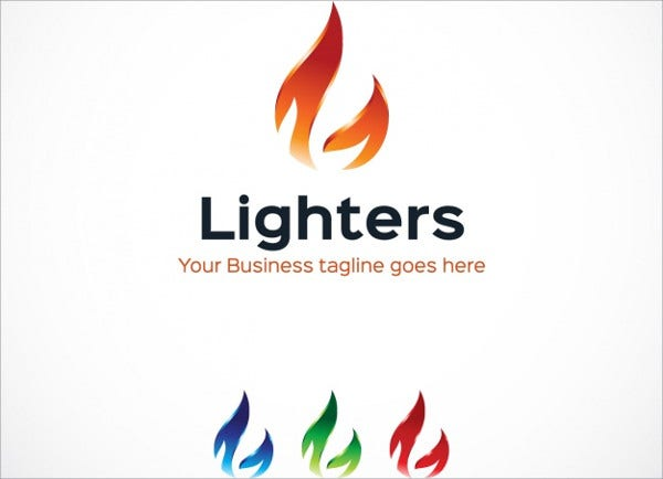 Free Flame Logo Design