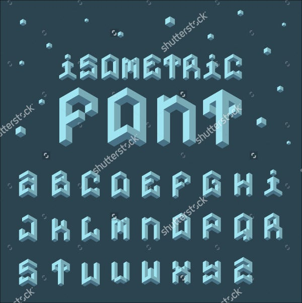 3d Funky Font