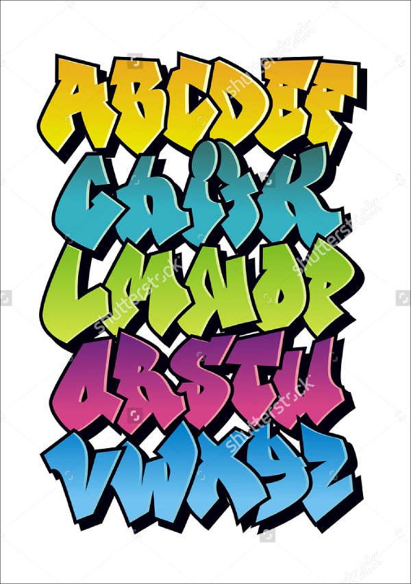 Funky Graffiti Font