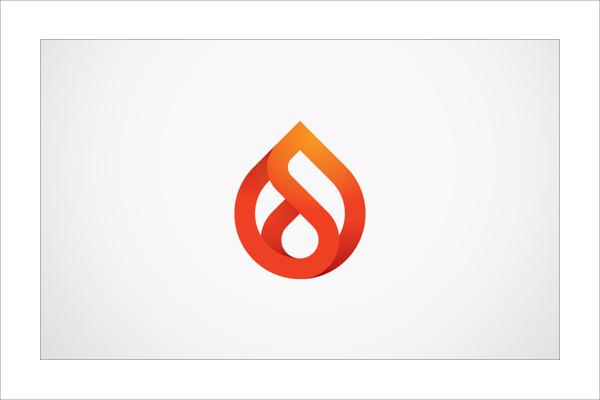 Branding Flame Logo