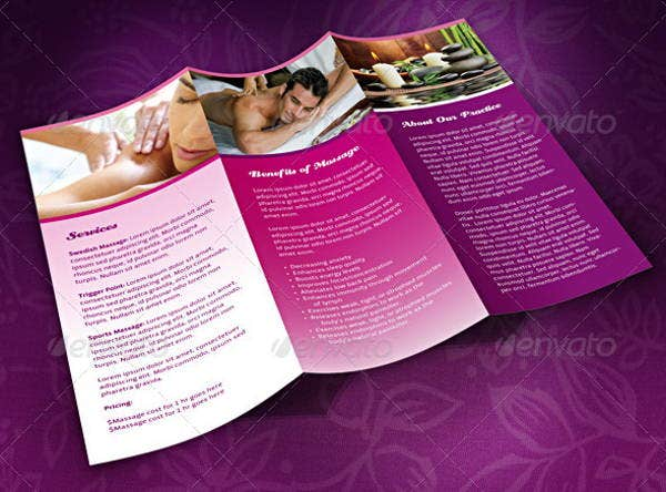 15  massage brochures