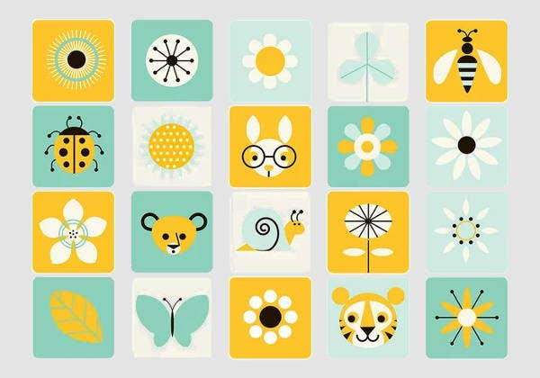 vector-spring-icons
