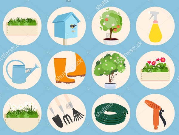 spring-gardening-icons