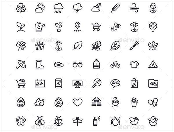 spring-line-icons
