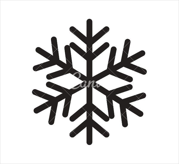 winter sknowflake icons