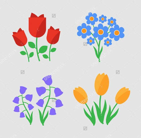 spring-flower-icons
