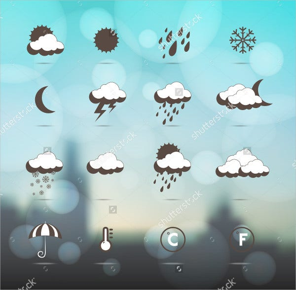 winter weather icons