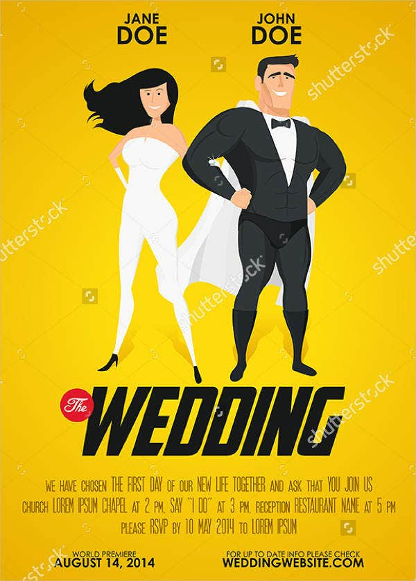 Funny Wedding Invitaion Poster