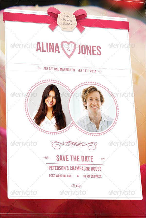 Wedding Invitation Poster