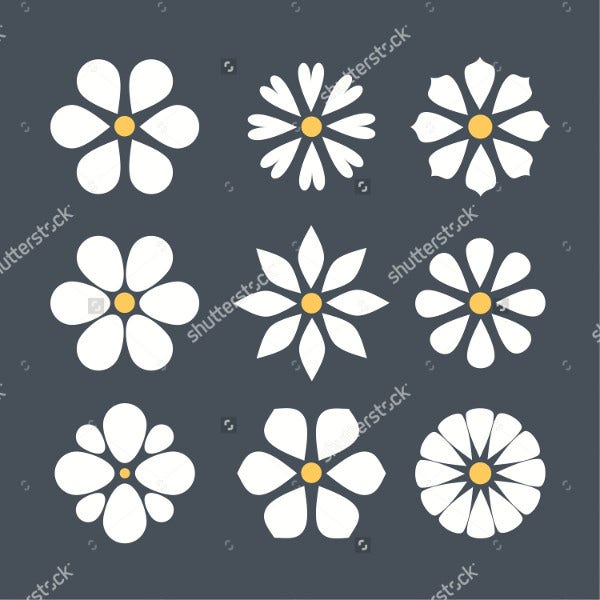 Daisy Flower Icons