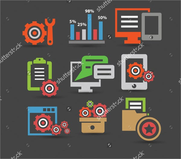 Vector Software Icons
