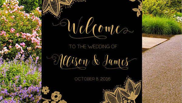 wedding poster designs