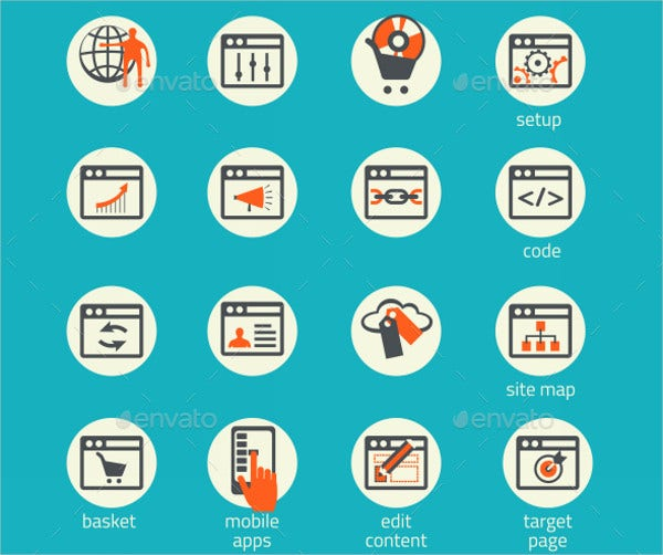 Software Business Icons