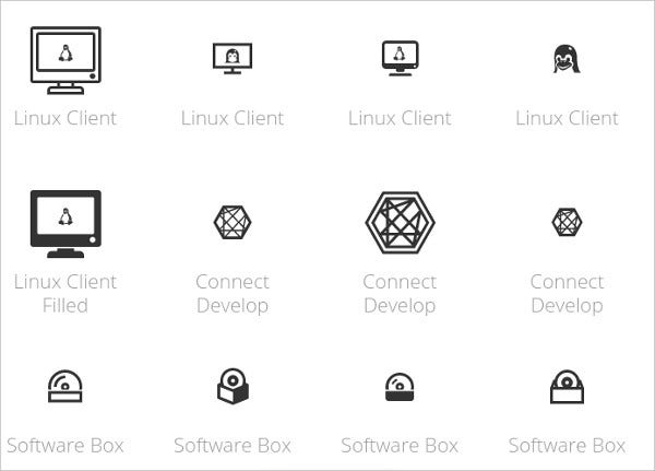 Software Development Icons