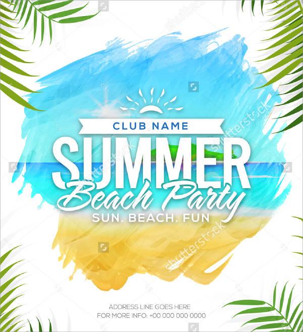 Summer Festival Flyer