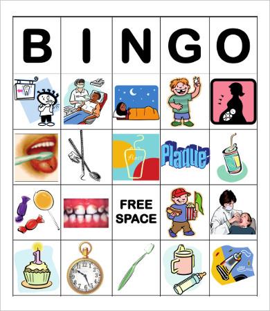 free bingo dental card