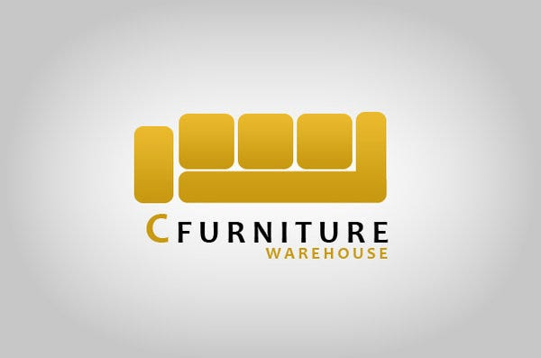 furniture logo in c design
