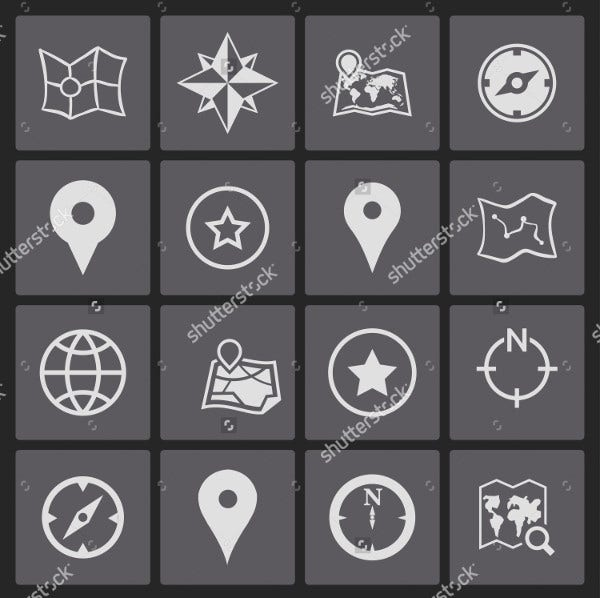 Global Navigation Icons