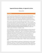 Acknowledgement Meeting Agenda