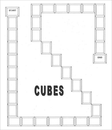 blank game board template1