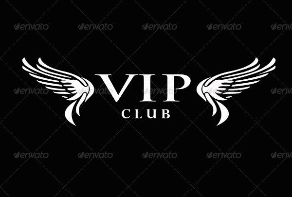 Vip Club Logo Design