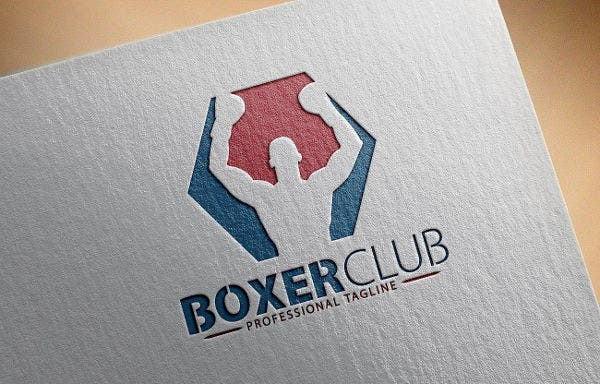 Boxer Club Logo Template