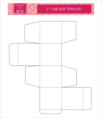cube box template