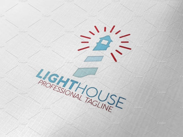 Harbor Lighthouse Logo