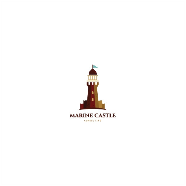 Lighthouse Marine Castle Logo
