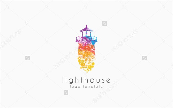 colorful-lighthouse-logo