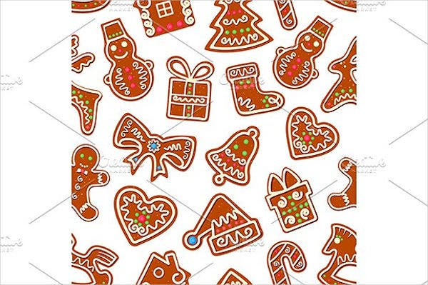 Vector Cookies Pattern