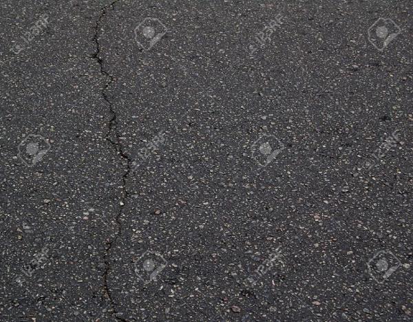 old black asphalt texture