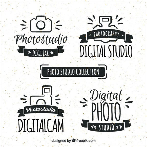 Hand Drawn Digital Studio Logo